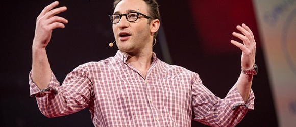 Simon Sinek at TED2014, Image via TED website