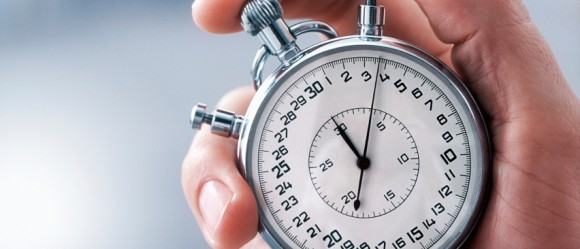 Stopwatch from iStock